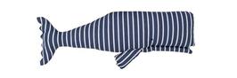 Plüschwal blau/weiß 40 cm