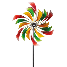 Stilvolles Windspiel Paddel 60 cm aus Metall