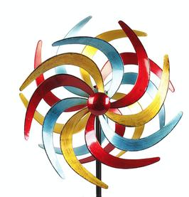 Stilvolles Windspiel Sichel Basic 38 cm aus Metall