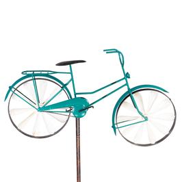 Stilvolles Windspiel Fahrrad aus Metall