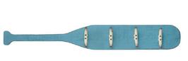 Maritime Holz Garderobe Paddeltour