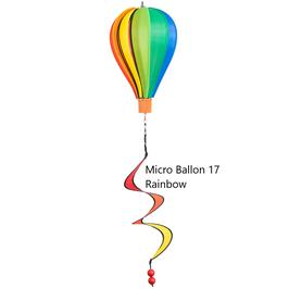 Windspiel Micro Ballon 17  Rainbow in 2 Varianten