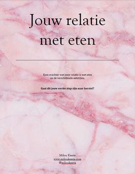 Jouw relatie met eten / E-book