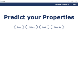 Demo: Chemical Property Prediction (Mixture)