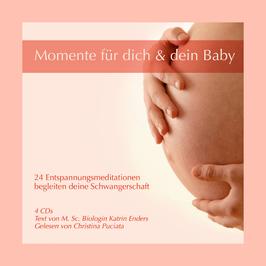 Momente für dich und dein Baby - 4 CDs