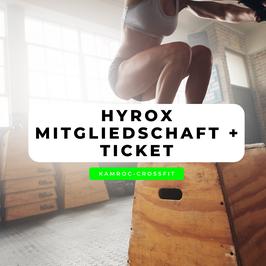 3 Monate HYROX-Mitgliedschaft inkl. HYROX Ticket