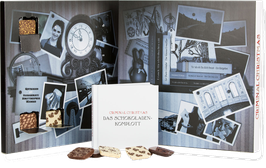 """""""Das Schokoladenkomplott"""" Adventskalender Criminal Christmas  - mit Buch! 255g"""