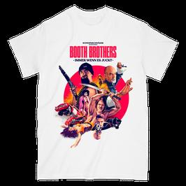 T-Shirt BOOTH BROTHERS (schwarz oder weiss)