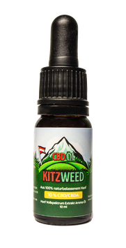10% KitzWeed CBD Vollspektrum Extrakt - 10ml