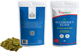"Blueberry Kush ""Premium Selection"" KitzWeed"