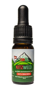 20% KitzWeed CBD Vollspektrum Extrakt - 10ml