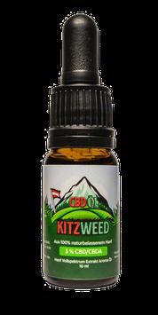 5% KitzWeed CBD Vollspektrum Extrakt - 10ml