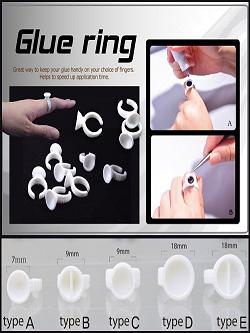 Glue Ring 10st