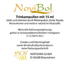 NoviBol Trinkampullen 15ml