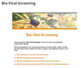 Bio-Vital-Screening