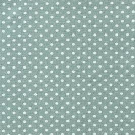 Jersey grün/Punkte weiß