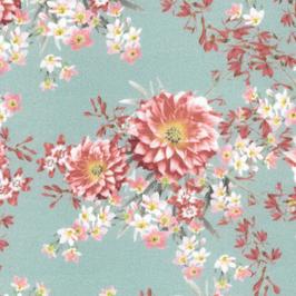 Interlock - Jersey Blüten 2