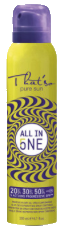 Sonnenschutz Spray SPF20/30/50 - All in one 5 Actions - 200 ml