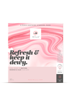 Soothing hydrogel sheetmask