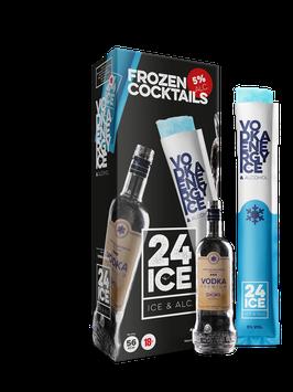 Frozen cocktail Vodka energy