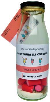 DIY cocktail: Sweet cherry