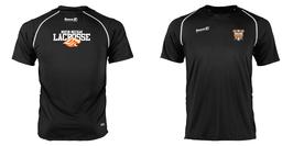 Lacrosse - Shirt Damen Schwarz