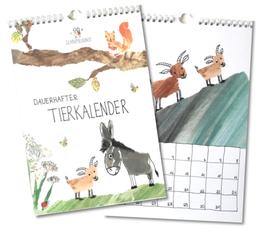 Dauerhafter Tierkalender