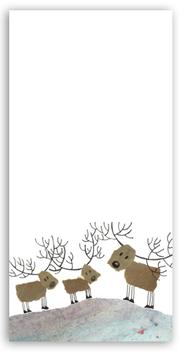 Notizblock Hirsche