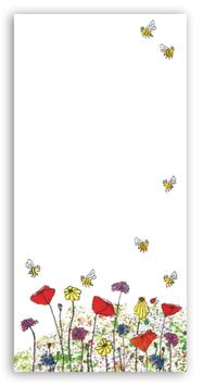 Notizblock Feldblumen