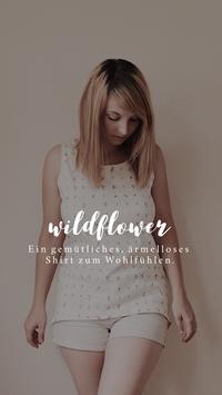 E-Book Damen Shirt Wildflower