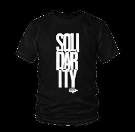Solidarity Shirt schwarz