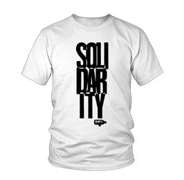 Solidarity Shirt weiß