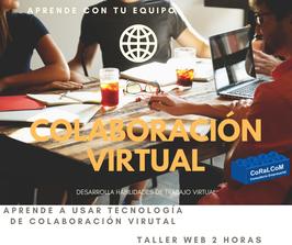 Taller de COLABORACIÓN VIRTUAL ESCENARIOS DE CAMBIO
