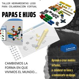 Taller Herramientas LEGO de Colaboración Virtual.