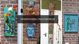 Workshop wandpaneel/Naambordje