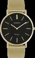 OOZOO Vintage Gold/Schwarz 32mm C9349