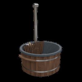 Getränkehalter/Bar aus Thermoholz