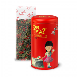Or tea Dragon Well groene thee Osmanthus