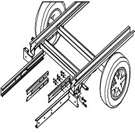 Rahmenverlängerung Renault Master X70 ab Bj. 1998 bis 2010