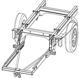 Anhängerkupplung Variabel 12,5 kN inkl. Rahmenverlängerung DC-Sprinter 3er ab Bj. 1995 bis 2006