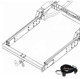 Anhängerkupplung Adria S 640 SP