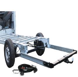 Anhängerkupplung Variabel 12,5 kN inkl. Rahmenverlängerung Normal Fiat Ducato ZFA250 und Elektrokabelsatz