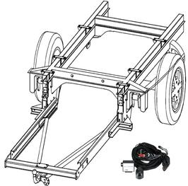 Anhängerkupplung Variabel 12,5 kN inkl. Rahmenverlängerung DC-Sprinter 3er ab Bj. 1995 bis 2006 und Elektrokabelsatz