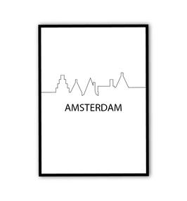 Poster Amsterdam