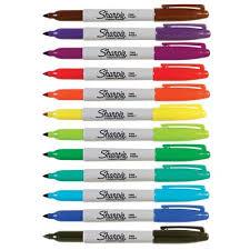 Plumones Tinta Permanente c/8 colores surtidos, HEATHROW SCIENTIFIC HS15094