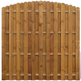 Pannello di recinzione in legno impregnato