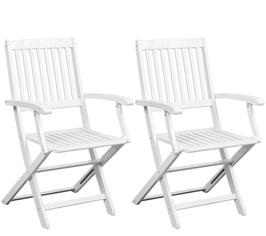 Set 2 sedie Boston Bianche