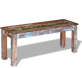 Panca 110cm legno riciclato