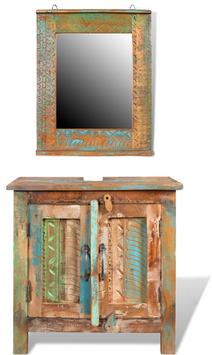Armadio sottolavello + Specchio