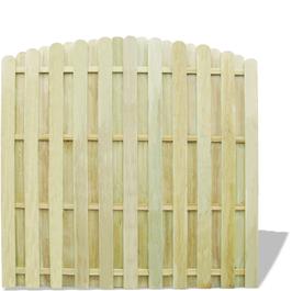 Pannello di recinzione in legno impregnato verde